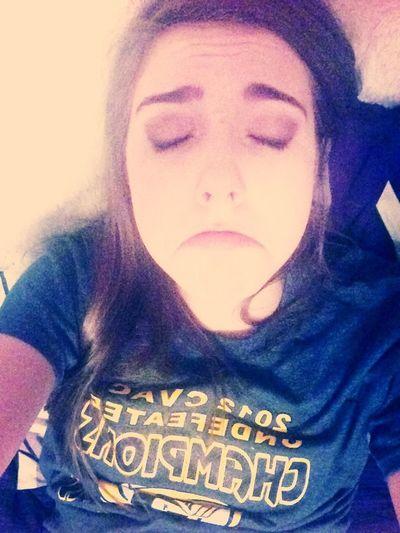 Aloneeeeeee Cause Ellie Ditched Me