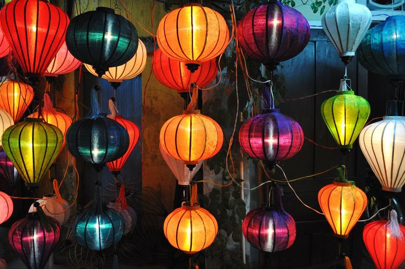 Lanterns at the local market in Ho Chi Minh, Vietnam. Market Vietnam Ho Chi Minh City Travel Traveling Travel Photography ASIA Southeastasia Travel Destinations Lantern Illuminated Chinese New Year Hanging Chinese Lantern Festival Celebration Traditional Festival Red Cultures Multi Colored Paper Lantern Chinese Lantern