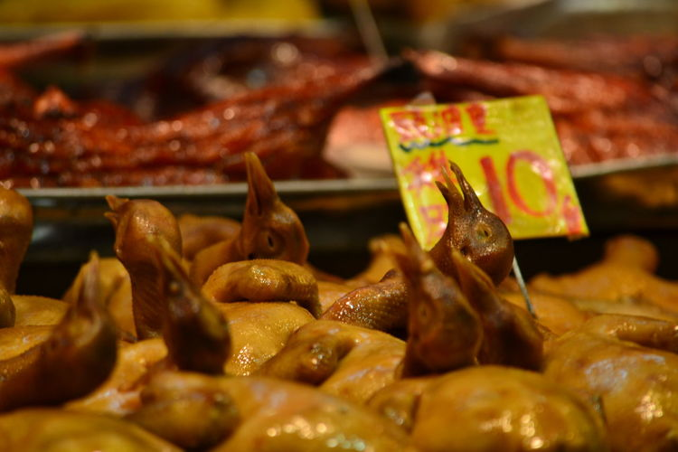 Bird Close-up Food Food And Drink HongKong Localfood Market Meat Nightmarket No People