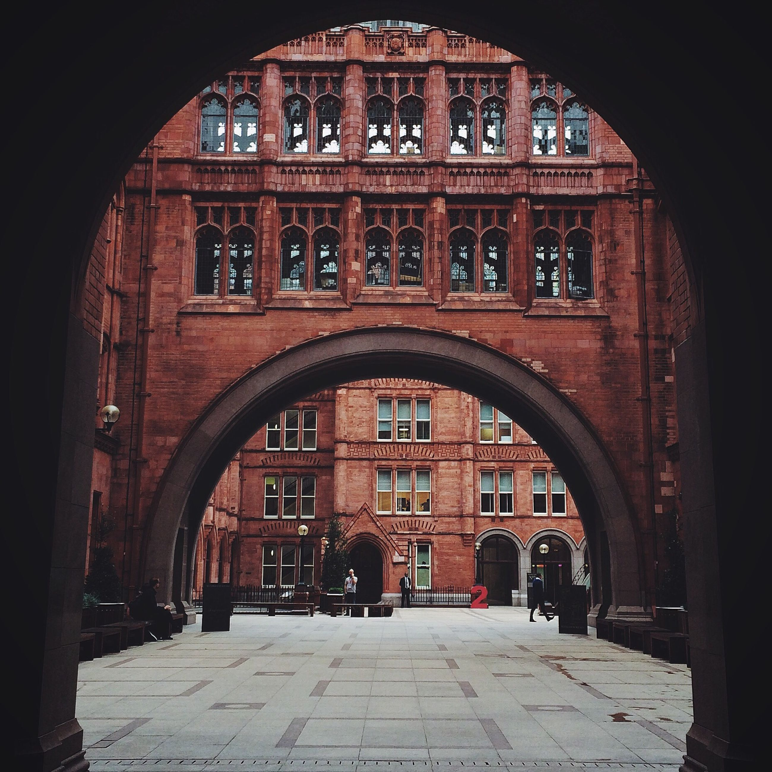 architecture, built structure, arch, building exterior, entrance, the way forward, window, building, archway, door, history, brick wall, facade, cobblestone, old, day, city, street, arched, diminishing perspective