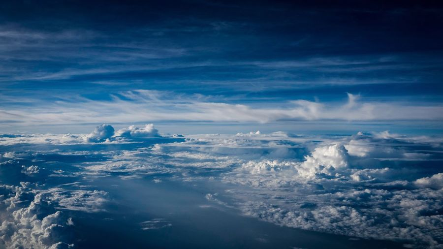 Clouds Over Sea