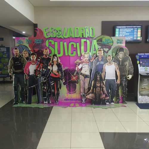 Suicide Squad, Araraquara, Brazil Big Eyes Cinema Color MOVIE Nice Person Shopping Iguatemi Sao Carlos Suicide Squad