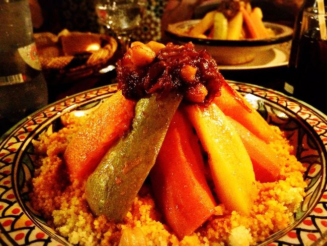 My World Of Food Chickens and Vegetables Cous Cous