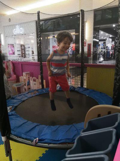 To baling Childhood Little Boy Jumping Brincando Tombling Colorful
