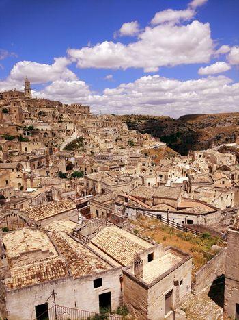 Matera Italy Italia EyeEm Selects Desert Cloud - Sky Sky Outdoors Arid Climate Scenics Day Landscape Rural Scene Mountain