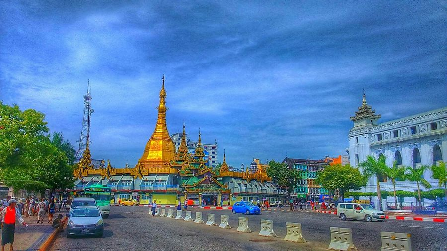 Welcome to Myanmar :-)