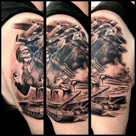 In progress Tattoo Check This Out Customdesign Tattooartist  Fullcustomtattoo Torstenmatthes Mrttattoo Coveruptattoo