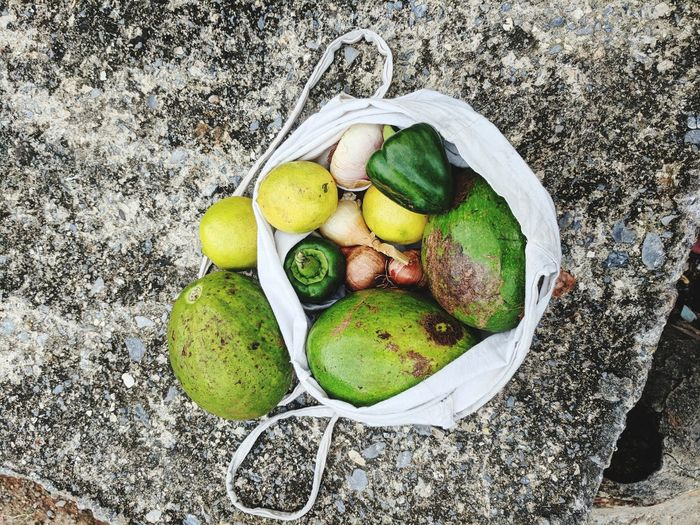 Basket Avocado Onion Onions Peppers Lime Guacamole Grocery Shopping Groceries Cuba Carribean