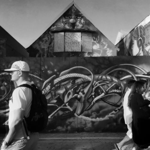 Venice Beach EEA3-Santa Monica / Venice Beach NEM Street NEM Black&white Mob Fiction EyeEm Best Shots The Street Photographer - 2015 EyeEm Awards EEA3 Huffington Post Stories