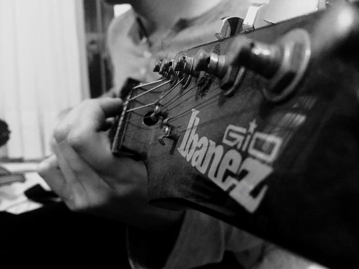 Music🎸 Ibanez Gio Turkey Istanbul Home Black And White Guitar EyeEm Best Shots - Black + White Dramatic Angles IPhone SE 📱🇹🇷 Music