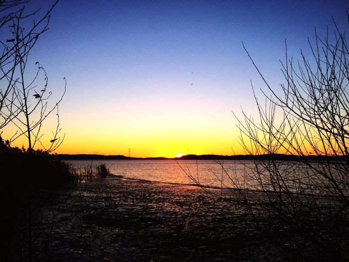 Sky Skyporn Sunset Sunshine Lake Clouds And Sky First Eyeem Photo Snow Spring Skyexperience First Eyeem Photo