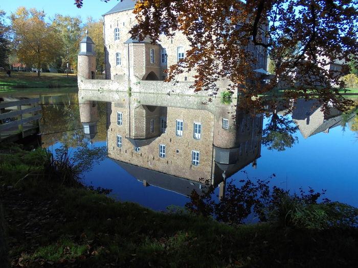 Kasteel Erenstein Kerkrade Noedit Beautiful Eyeemnaturelover Prachtig_limburg Super_holland Water Reflections DitisLimburg Limburg