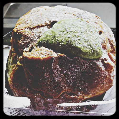 Matcha Ice Cream Puff Food Matcha Icecream Puffpuff