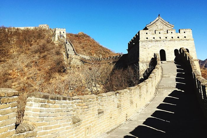 Historical Sights The Great Wall Ancient Architecture Asian Culture