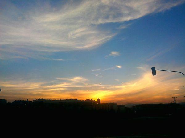 Capture The Moment Moment Sunset Anı Yakala Gunbatimi Sincan Sky