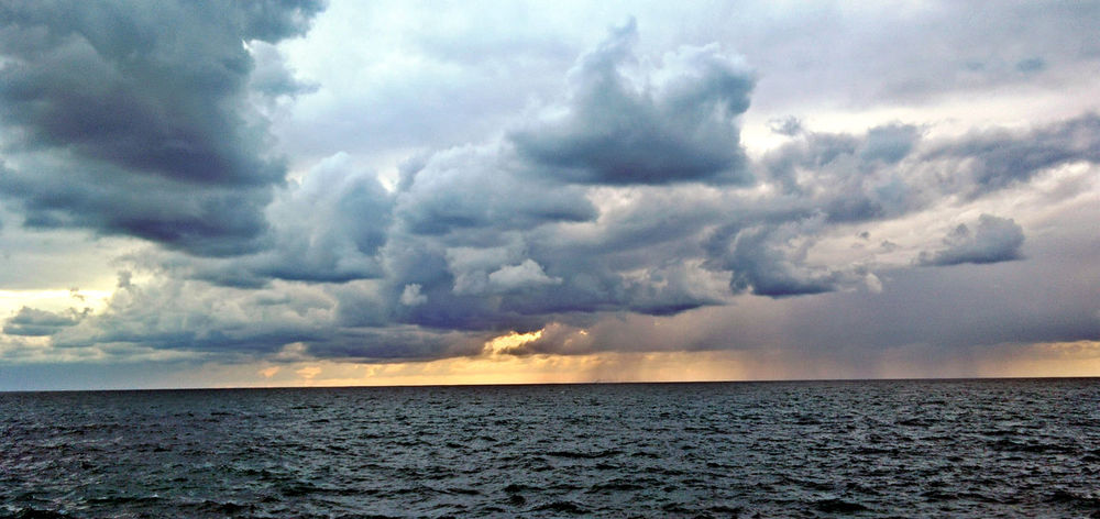Beach Photography Beautiful Nature Clouds And Sky Cold Days Hiding Sun Rain Clouds Rainy Day Sea View