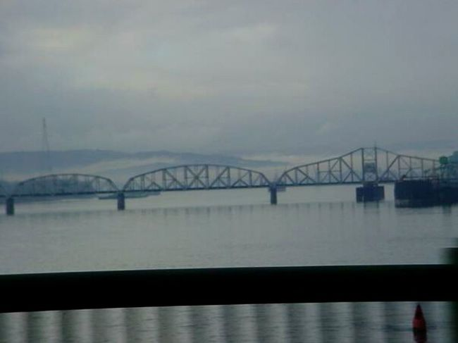 Bridges River Train Bridge Grey Sky Easter Ready