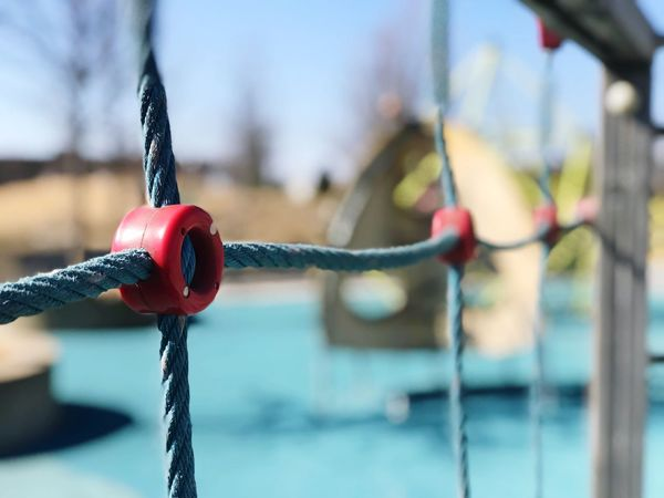 Playground Birmingham, AL Park - Man Made Space Playground Architecture Playground Playground Abstraction Blue Sky Sinrau Playground Structure Playground Fun With The Kids EyeEm Selects Focus On Foreground Rope Hanging No People Close-up Day Strength Outdoors