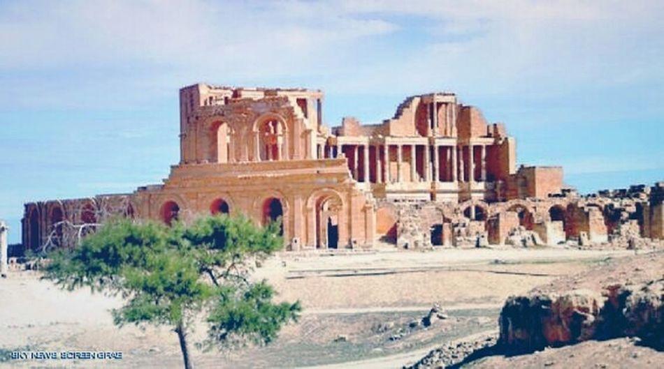 Ancient roman in sabratha .. Ancient Ancient Ruins Ancient City Sabrath Taking Photos Roman Libya