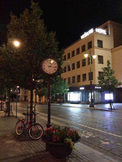 Night City City Street Street Light City Life