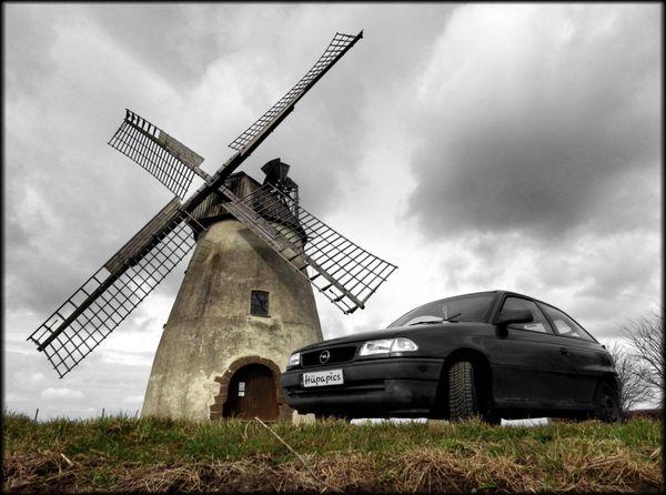 Astrid shooting Windmill Windmühle Effects & Filters Weekend Black & White Hüpapics Kunst Ist Was Du Daraus Machst EyeEm Best Shots Hille Pentax Sky Opel Opel Astra