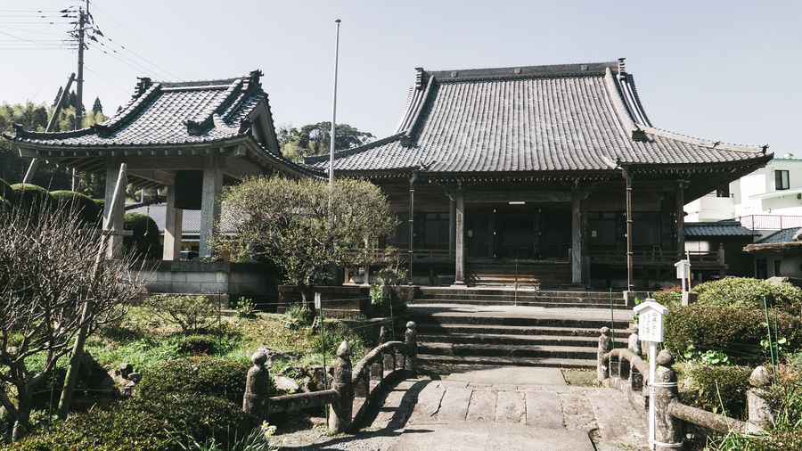 Architecture Building Exterior Built Structure Japan Japan Photography No People Outdoors Roof Tree