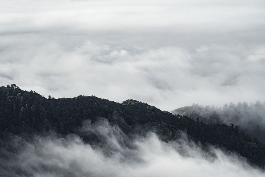 Break in the clouds. Beauty In Nature Cloud - Sky Day Landscape Majestic Mountain Nature No People Outdoors Scenics Sky Tranquil Scene Tranquility