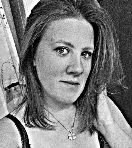 That's Me Selfie ;) Self Portrait B&W Portrait