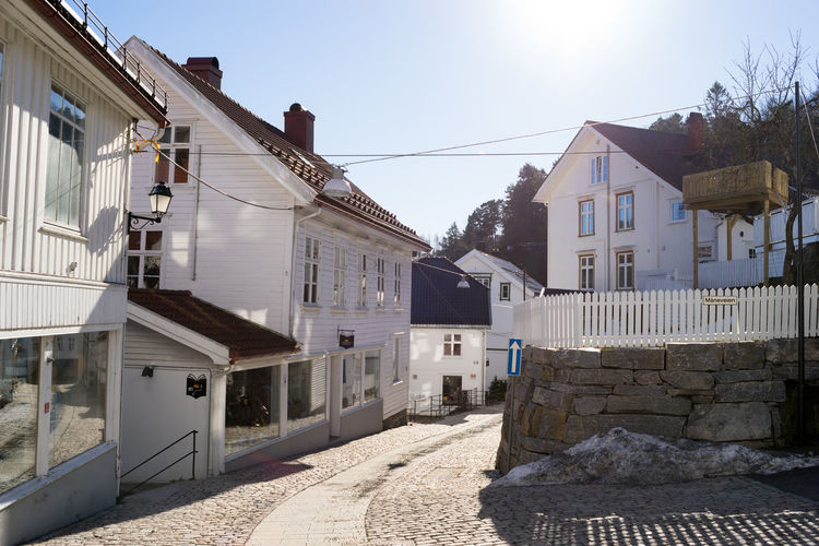 Tvedestrand 35mm Architecture Building Exterior Built Structure City Day House No People Norway Norway🇳🇴 Outdoors Residential Building Sky Street Town Tvedestrand Place Of Heart