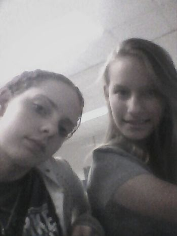 my buddy lol she a cool chic i guess haha naw she is shes always ttere for.me when im sick or mad or any time i need her