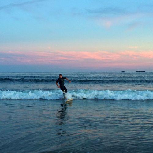 Sunset At Long Beach, NY Visualmagic EyeEm Best Shots Sunset #sun #clouds #skylovers #sky #nature #beautifulinnature #naturalbeauty #photography #landscape