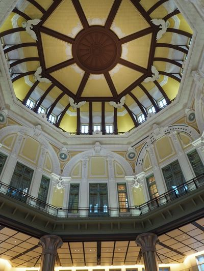 Tokyo Station Tokyo Tokyo,Japan Indoors  Ceiling Low Angle View No People Architecture Pattern Hanging 東京 東京駅