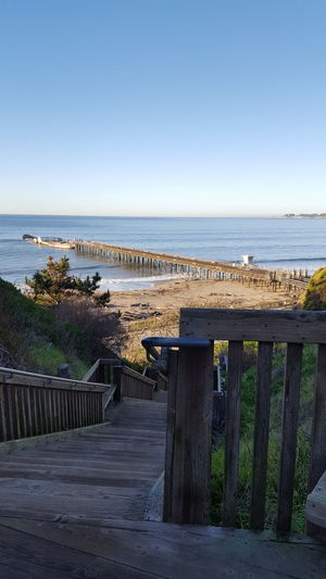 Sea Horizon Over Water Beach Outdoors Day Water No People Sky Clear Sky Scenics Nature Beauty In Nature Santa Cruz