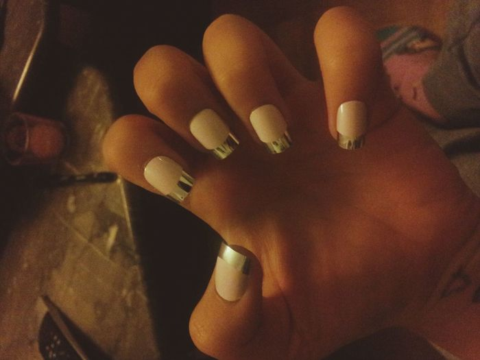 My New Nails<3 i love it It's So Beautiful  Make Some Photos Basel With My Besties :* love him :*