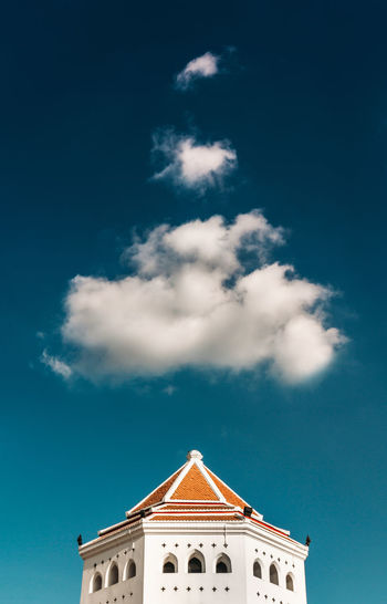 Architecture Astrology Sign Bangkok Building Exterior Building Feature Built Structure Cloud - Sky Day Minimal Minimalism No People Outdoors Sky Thailand Travel Destinations