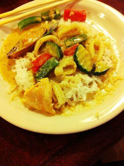 Dinner at Thai Lotus Dinner