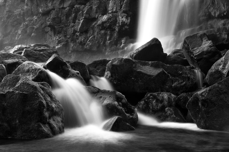 Beauty In Nature Close-up Day Long Exposure Motion Nature No People Outdoors Power In Nature Rock - Object Scenics Sky Tranquil Scene Travel Water Waterfall