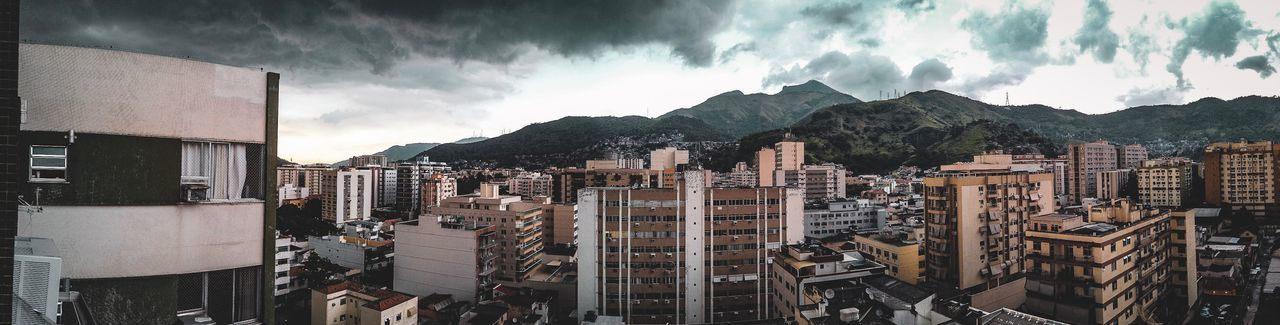 Méier Panorama Tempestade Storm Ricardo Barbosa CFPRS Pocket  Dji Osmo Clouds Edificio Daylight Day Panorama