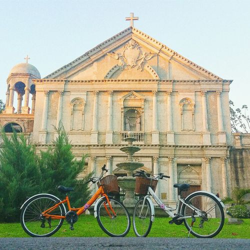 Solem Bike Church Eyeem Philippines Two Of A Kind Itsmorefuninthephilippines Capture The Moment From My Point Of View From Where I Stand