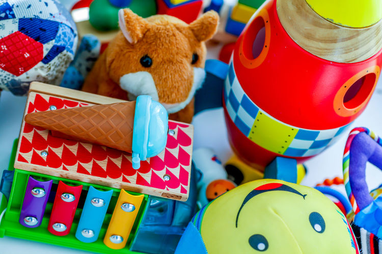 Close-up of toys toy
