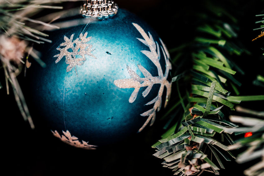 Holiday Celebration No People Decoration Christmas Ornament christmas tree Christmas Blue Sphere Holiday - Event Belief Green Color Christmas Decoration