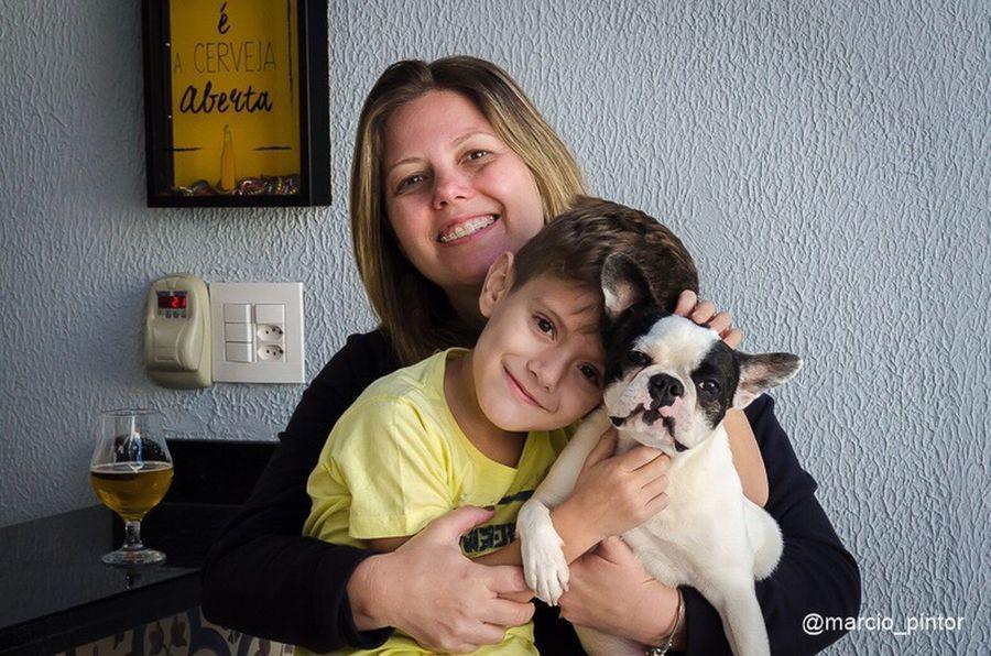 Pet Portraits Family Frenchbulldog