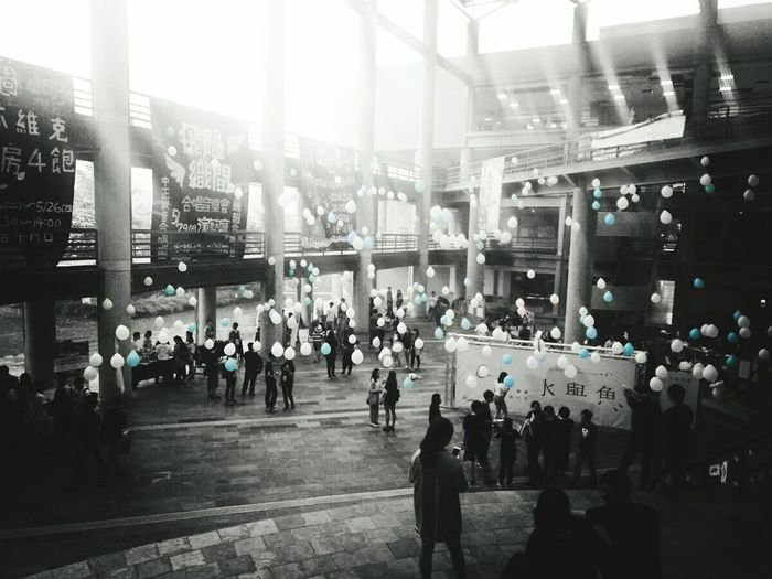 氣球 中正 Ballon Banquet Feast Ted 年會 台灣 嘉義 大學 Fine Art Photography