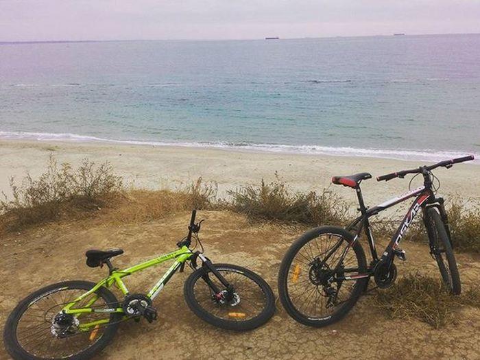Хорошая была катка пятница  каточка Море кайф моеместо велосипед одесса украина