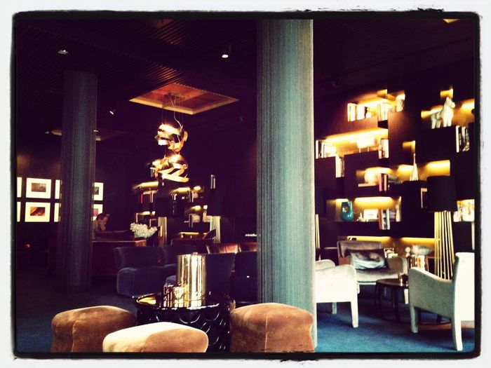 Pretty cool lobby...