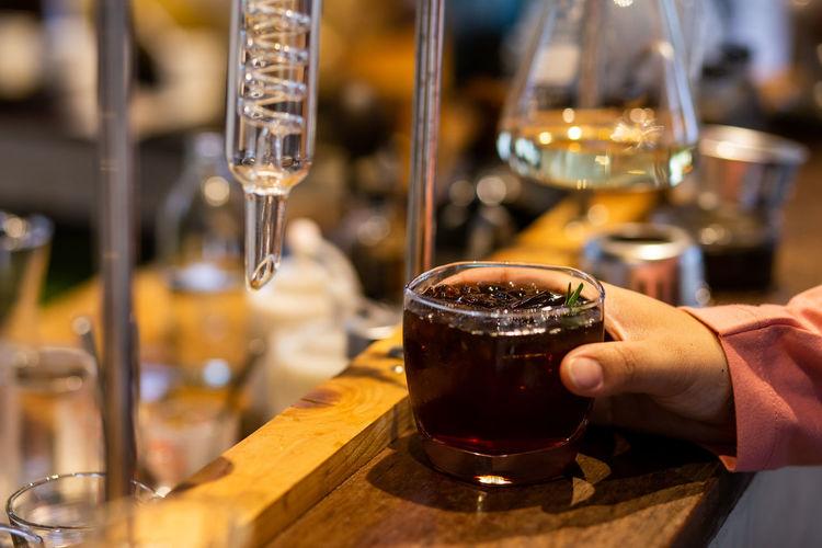 Glass of wine glasses