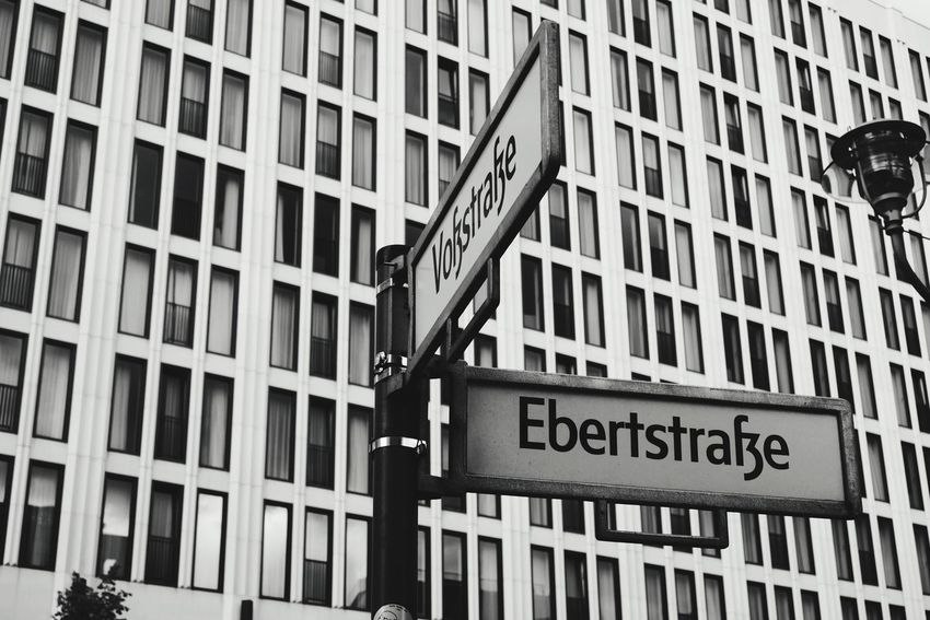 Capture Berlin Building Exterior Architecture Text Day Communication No People Outdoors City Road Sign