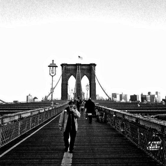 Brooklyn Bridge Photography Newyork smoking outdoors city blackandwhite suttle