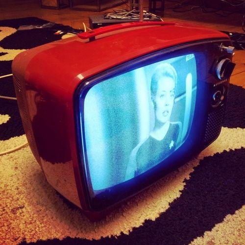 Fernsehgerät Television Seventies