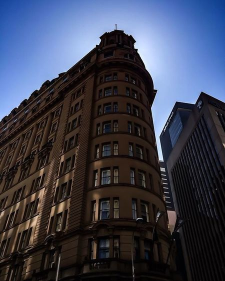 New & old Sydney.